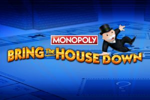 Monopoly bring the house down logo
